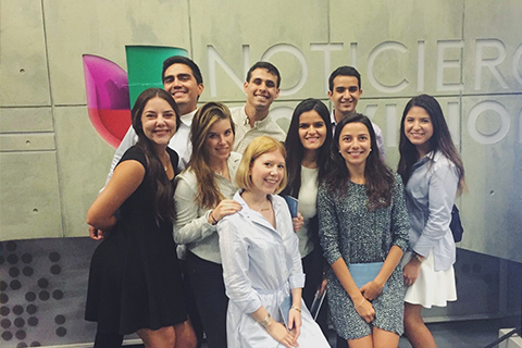 9 Interns at Univision